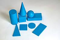 Набір геометричних фігур з тілами 9 шт. НУШ
