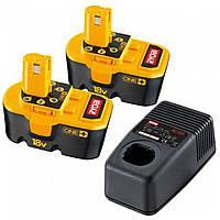 Аккумулятор и зарядное устройство Ryobi BCP18172M