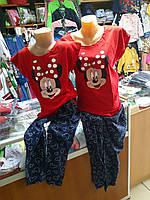 Детская подростковая пижама Мама и Дочка р.134 - 146