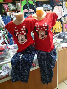 Детская подростковая пижама Мама и Дочка р.134 - 158