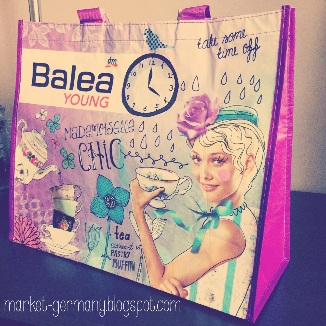 Balea Shopping Bag шоппинг сумка (можно использовать как пляжную сумку)