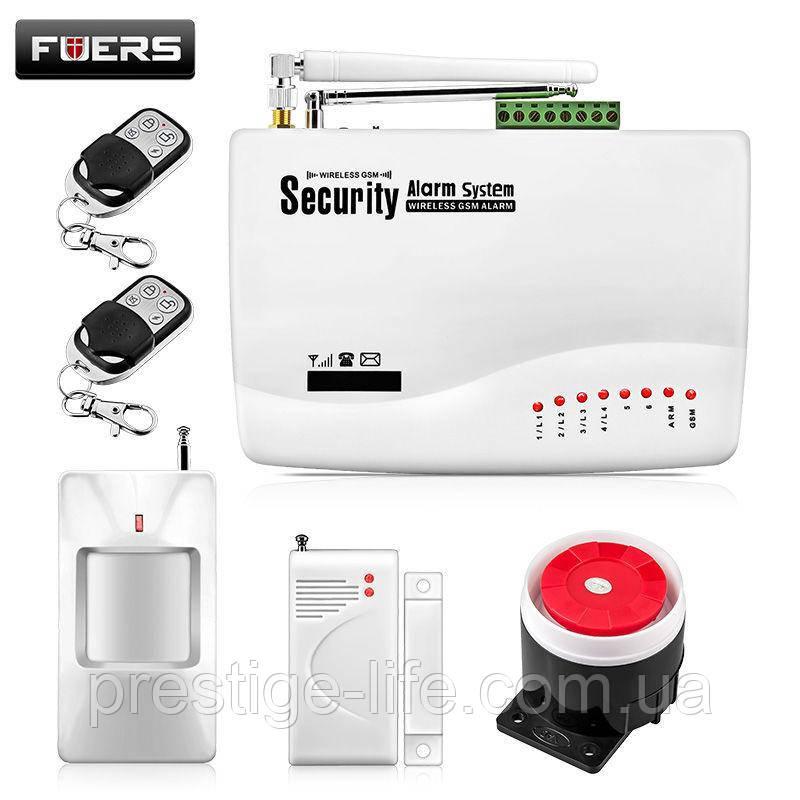 Охранная сигнализация GSM G10