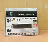 Smart приставка UCLAN Denys H.265 IPTV+