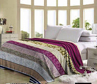 Красивое двухспальное покрывало микрофибра, фото 1