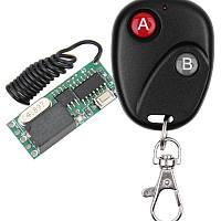 Одно-канальный универсальный дистанционный выключатель (Реле) на 3, 5 или 12 Вольт до 2 Ампер 433МГц