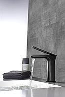 Черный смеситель для раковины Rea Soho Black, фото 1