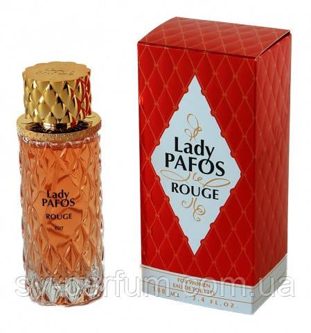 Туалетная вода женская Lady Pafos Rouge 100ml