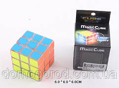 Кубик логика 8112 (144шт/2)свет, 3*3, в коробке 6*6*6см