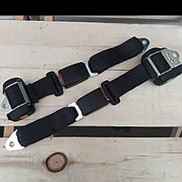 Инерционные задние двухточечные ремни безопасности