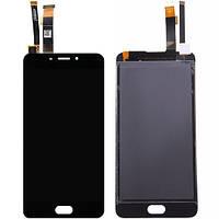 Дисплей для мобильного телефона Meizu E / черный / с тачскрином
