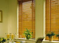 Жалюзи для декора окна деревянные HONEY A02  50 мм, фото 1
