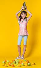 Детские лосины для девочки BRUMS Италия 151BGBM008 Голубой