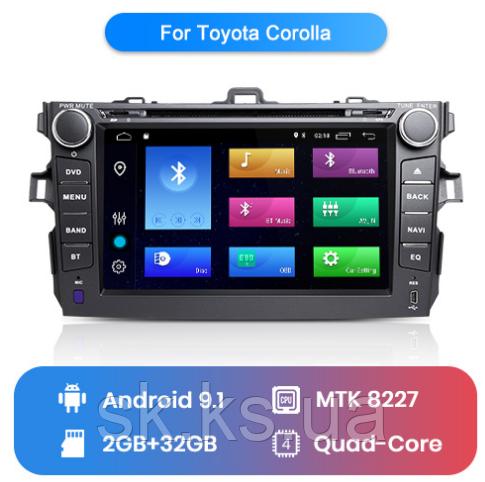 Junsun 4G Android магнитола для Toyota corolla