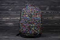 Рюкзак черный с принтом Asos Print