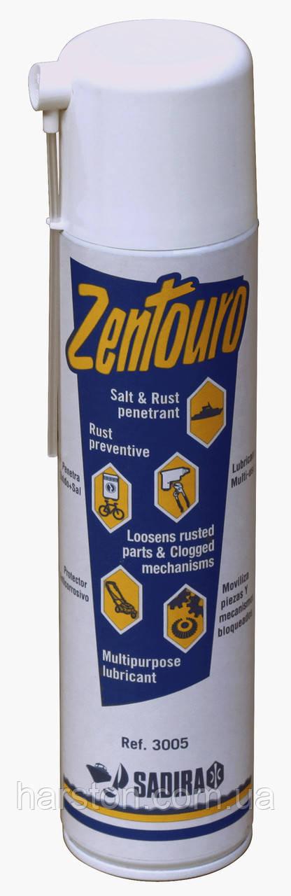 Аэрозольная смазка Zentouro для ухода за металлом, 650 мл аэрозоль