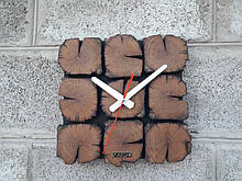 Годинники настінні дерев'яні,настінні годинники в сучасному дизайні, авторська ручна робота VenkoWood