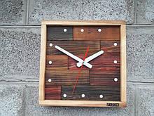 Годинники настінні дерев'яні, незвичайні настінні годинники, авторська ручна робота VenkoWood