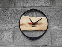 Годинники настінні дерев'яні, круглі годинники настінні, дизайнерська ручна робота VenkoWood