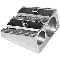 Точилка металлическая двойная C1006