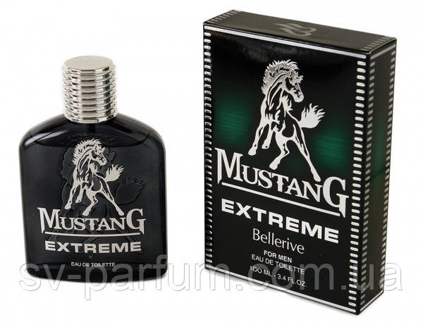 Туалетная вода мужская Mustang Extreme 100ml