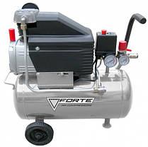 Компрессор FORTE FL-2T50 (1.5 кВт, 200 л/мин, 50 л), фото 2
