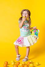 Дитячі спідниці для дівчинки Desigual Іспанія 41F3116 Білий