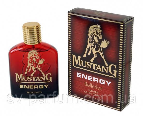 Туалетная вода мужская Mustang Energy 100ml