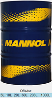 Синтетическое масло для грузовых автомобилей   Mannol TS-7 UHPD Blue  20L
