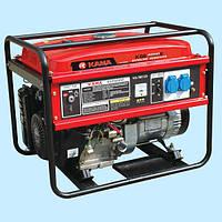 Генератор бензиновый KAMA KGE 6600Е (5.0 кВА)