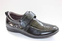 Школьные туфли для мальчиков ТМ B&G 35р.