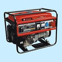 Генератор бензиновый трехфазный KAMA KGE 6600Е3 (5.0 кВт)