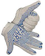 """Перчатки рабочие """"FAR"""" Х/Б (600г) для садовых и бытовых работ"""