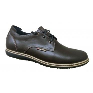 Туфли мужские классические из натуральной кожи 39-46 коричневый