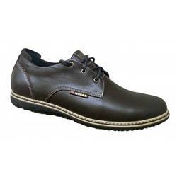 Туфли мужские классические из натуральной кожи 40-45 коричневый
