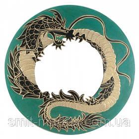 """Зеркало мозаичное """"Дракон"""" (d-40 cм)"""