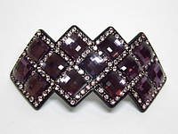 Заколка для волос фиолетовый 4_9_103a4