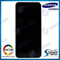 Дисплей на Samsung A205 Galaxy A20 Чёрный(Black),GH82-19571A, Super AMOLED!