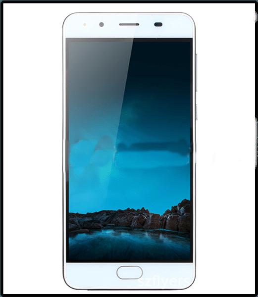 """Безрамочный смартфон Ollo R11 экран 5"""" черный 2 Sim аккумулятор 2800мАч + силиконовый бампер"""