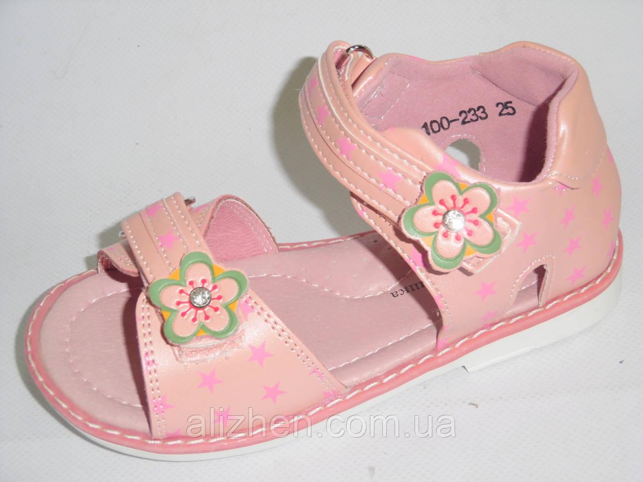 """Босоножки, сандали  для девочек тм""""Шалунишка-ортопед """" размеры 25."""