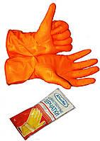 """Перчатки хозяйственные """"Алиско"""" (L) латексные, для бытового использования"""