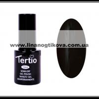 Гель лак Tertio 12 (черный ) 10 мл