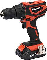 Шуруповерт-дрель аккумуляторный YATO 18 В YT-82784