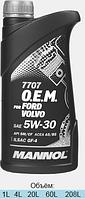 Оригинальное моторное масло MANNOL 7701 O.E.M. for Chevrolet Opel 4L