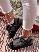 Женские кроссовки в стиле New Balance 574 black (39, 40, 41 размеры), фото 2