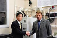 Mitsubishi Electric оборудовала лабораторию МГТУ им. Н.Э. Баумана стендом «Тепловой насос Воздух-вода»