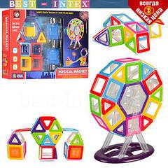 Детский конструктор Bambi 713 Magical Magnet (58 деталей)