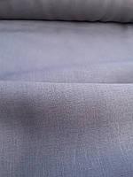 Льняная костюмная ткань графитового цвета, фото 1