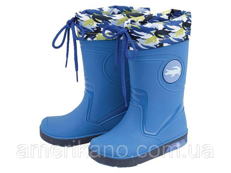 Мигающие резиновые сапоги для мальчиков LUPILU® Toddlers Boys Ботинки Германия 26/27  размер