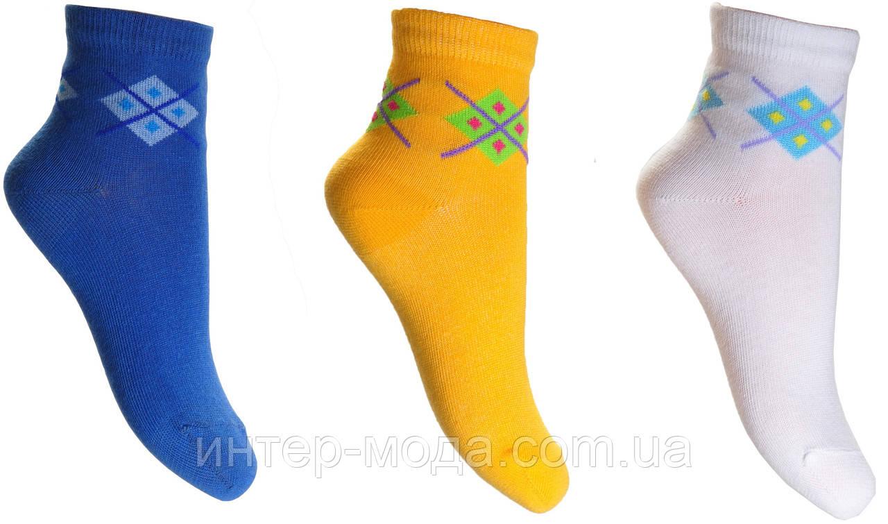 Дитячі шкарпетки комп'ютерний малюнок демисезон арт.804 р. 22