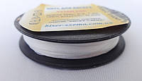 Нить для бисера 200 м. 1 мм.белая